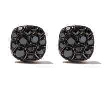 18kt  and white gold Nudo diamond stud earrings - Unavailable