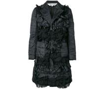 longline organza padded jacket