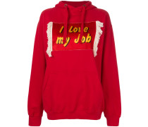 'I Love My Job' Kapuzenpullover