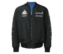 x Jun Takahashi reversible shell bomber jacket
