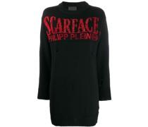 'Scarface' Pullover mit Kristallen