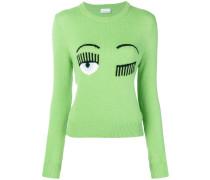 Pullover mit Auge-Motiv