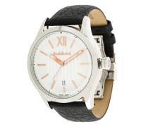 Runde Armbanduhr