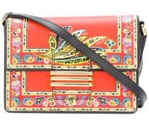floral crossbody satchel