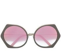 geometric tinted sunglasses