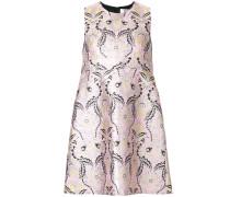 brocade mini shift dress