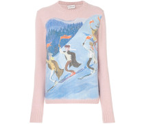 ski print jumper