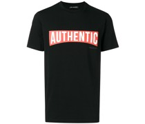 "T-Shirt mit ""Authentic""-Print"