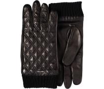 Handschuhe mit Rautenmuster