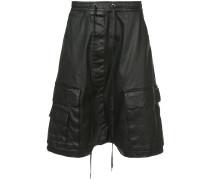 waxed cargo shorts