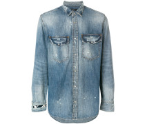 Jeanshemd in Distressed-Optik - Unavailable