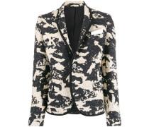 Blazer im Camouflage-Look