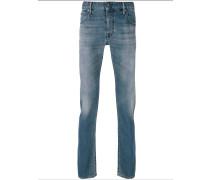 contrast stripe jeans
