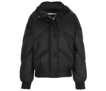 rounded quilted puffer jacket