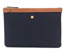 'MS' Canvas-Clutch