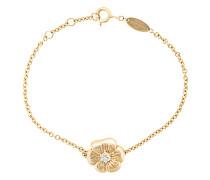 18kt Gelbgold-Armband mit Topaz