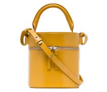 yellow Drum leather shoulder bag