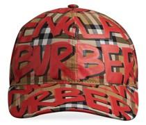 Baseball-Kappe mit Graffiti-Print