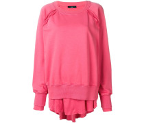 Oversized-Sweatshirt im Layering-Look
