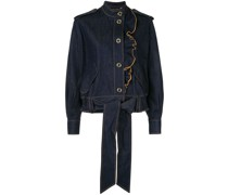 'Coriolis' Jacke mit Rüschen