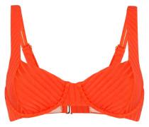 'Tangerine' Balconette-Bikinioberteil
