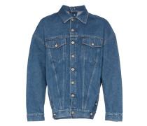 Jeansjacke mit Knöpfen
