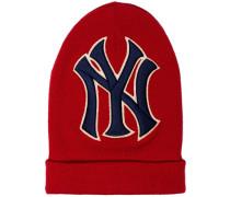 Beanie mit NY-Yankees-Stickerei