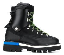 Hiking-Boots mit Kontrastdetails