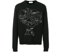 Sweatshirt mit Pilzen