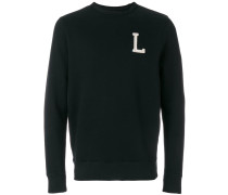 "Sweatshirt mit ""L""-Patch"