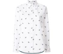 embroidered zebra shirt