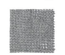 eyelet knit scarf