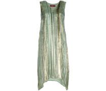 shiny striped dress