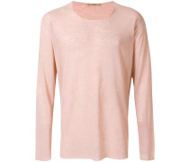 long sleeve sheer T-shirt