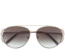 crystal trim sunglasses