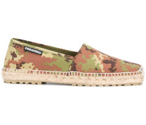 Espadrilles mit CamouflagePrint