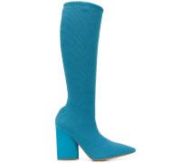 Kniehohe Sock-Stiefel