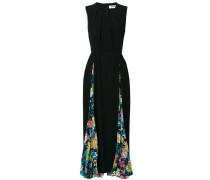 Kleid mit floralem Einsatz