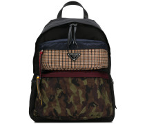 contrast panel backpack