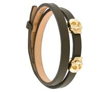 skull embellished bracelet