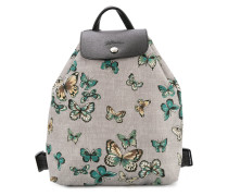 butterfly print small backpack