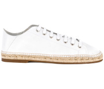 Sneakers mit Espadrille-Sohle
