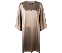 Kleid im Metallic-Look