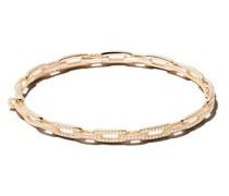 18kt 'Stax' Gelbgoldarmband mit Diamanten