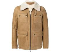 cargo shearling jacket