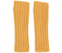 cashmere knited mittens
