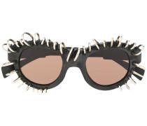 'L2' Sonnenbrille mit Piercings
