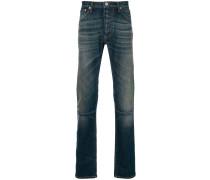 stonewashed skinny jeans