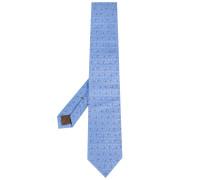 Krawatte mit Mikro-Print