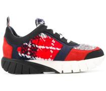 Oversized-Sneakers mit Schottenkaro